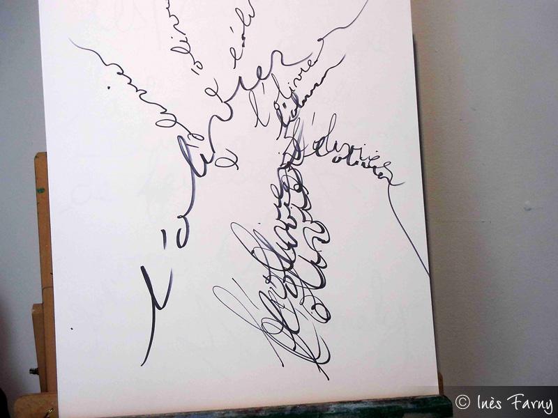 L'olivier de Nathalie Pioger