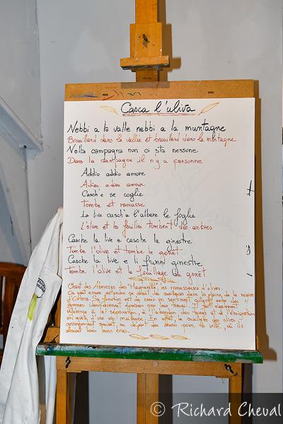 La chanson de Casca l'Oliva