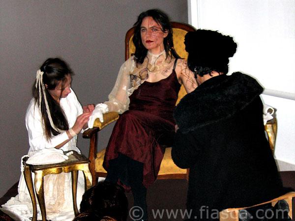 Isabelle Paré, Marie-Noëlle Deverre et moi