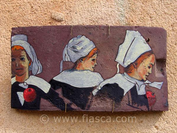 Petites bretonnes dansant