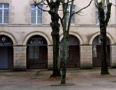 Cour carré de la Dentelle - Aile gauche - Alençon