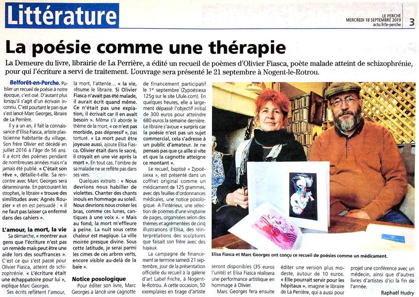 Article de Ouest France